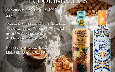 Zoom EVOO Tasting + Cooking Class Event!