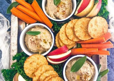 CHESTNUT HUMMUS WITH FRESH SAGE