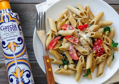 Tomato Spinach Penne